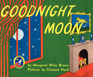 Goodnight Moon, favorite baby book nanny reading to child