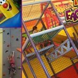 Fun Places to climb and run and chase at the play factory on Batman Night